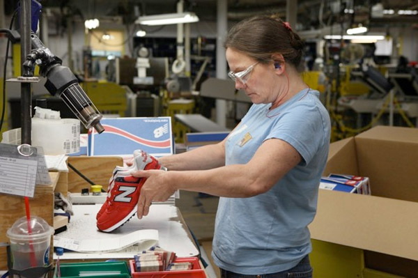 new balance manufacturing